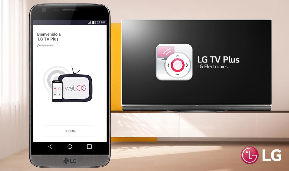 ¿Qué puedo hacer con la aplicación LG TV PLUS?