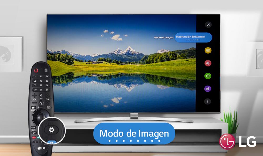 Conoce los diferentes tipos de modo de imagen de tu TV LG