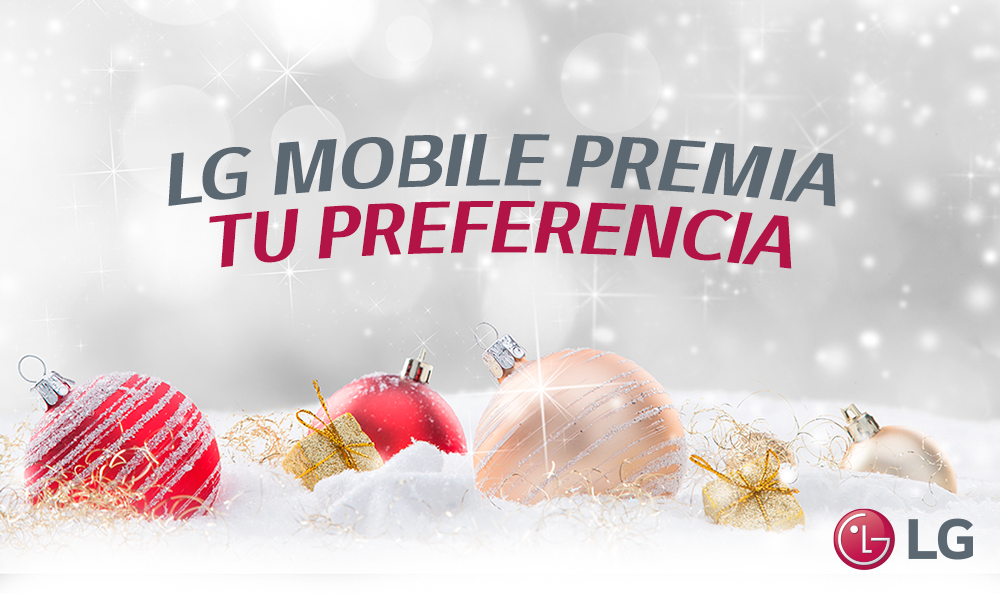Activación LG Mobile 17 y 18 de diciembre