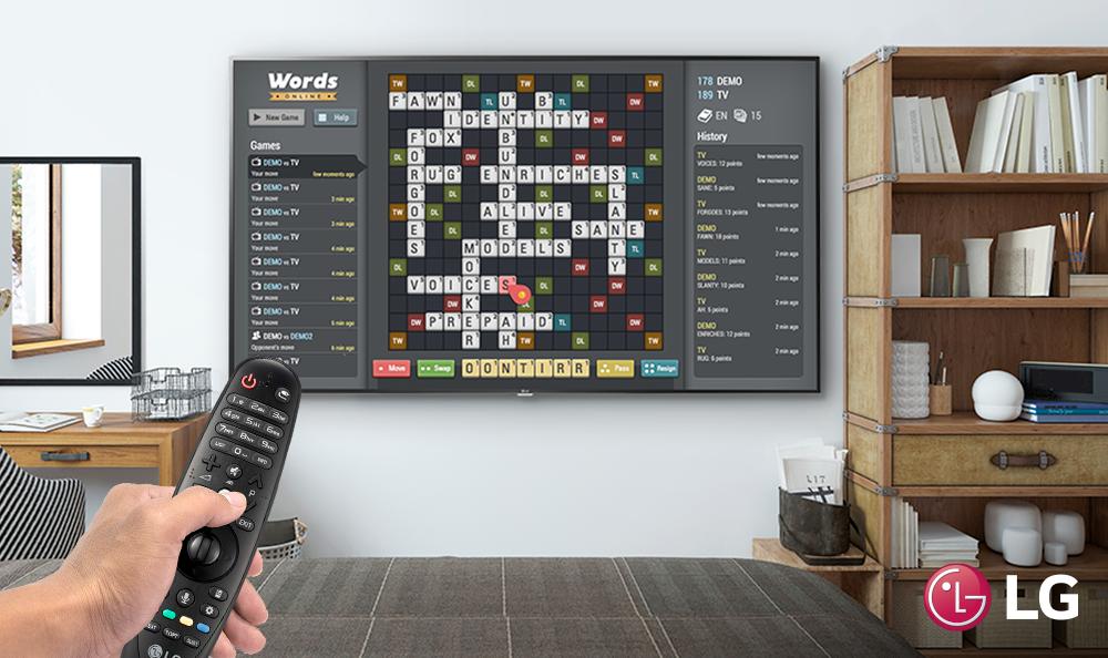 ¡La diversión y los mejores juegos están en tu TV LG!