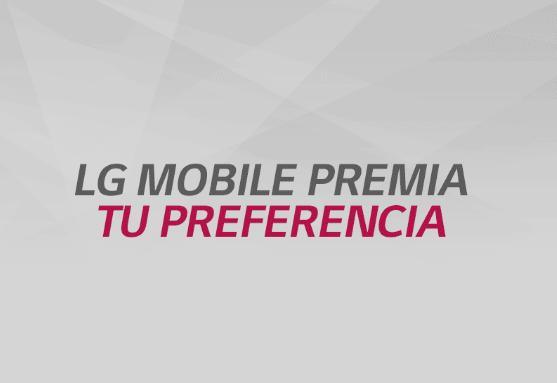 Activación LG Mobile 10 y 11 de diciembre
