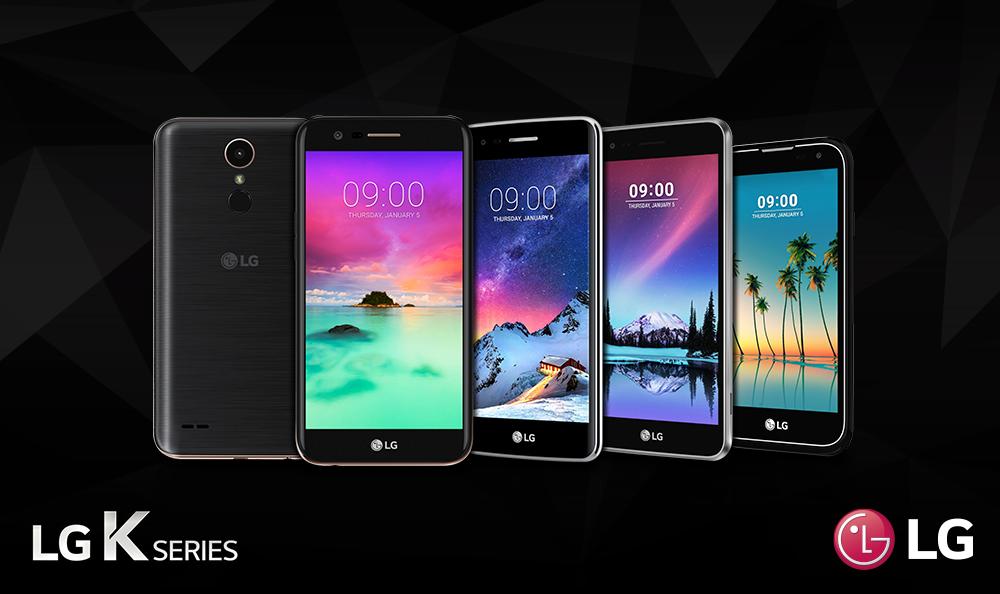 LG presentó smartphones de gama de entrada con características Premium en el CES 2017