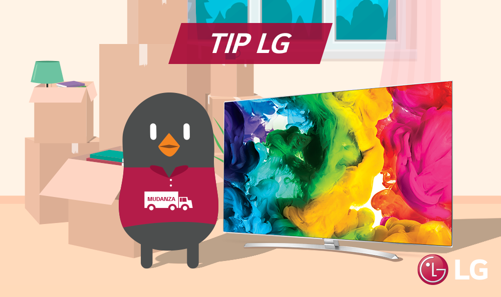 ¿CÓMO TRASLADAR DE MANERA SEGURA TU TV LG?