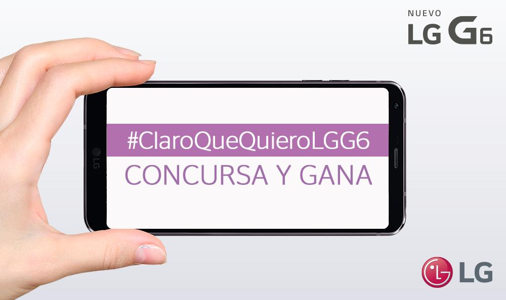 TÉRMINOS Y CONDICIONES GANA UN G6 – CONCURSO TWITTER