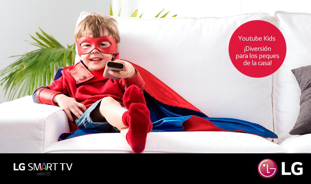 ¿Cómo regular contenidos para niños desde el Smart TV?
