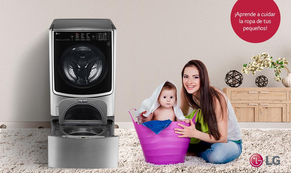¿Cómo lavar la ropa de los pequeños de la casa?