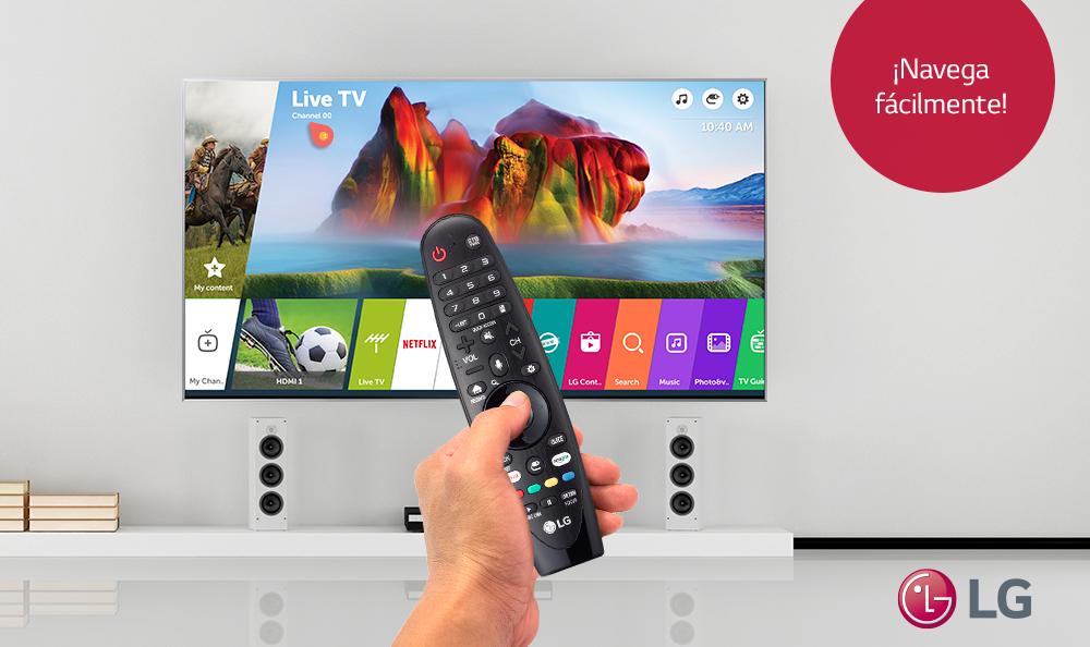 APRENDE A NAVEGAR EN LA WEB DE TU SMART TV LG