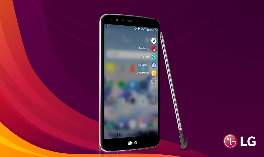 LG STYLUS 3 Y SU MENU PEN POP 2.0