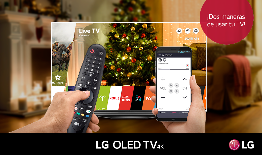 DISFRUTA DE TU LG SMART TV CON TU MAGIC REMOTE DESDE LA APP LG TVPLUS