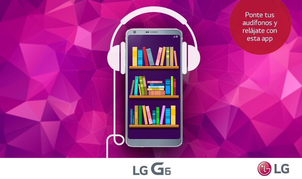 Conoce la app de audiolibros que acompañarán tus días