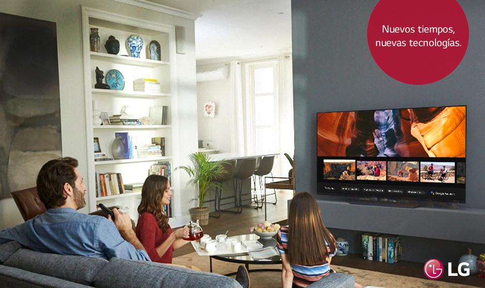 CES 2018: LG presenta línea de televisores con inteligencia artificial y  procesador de imagen avanzado