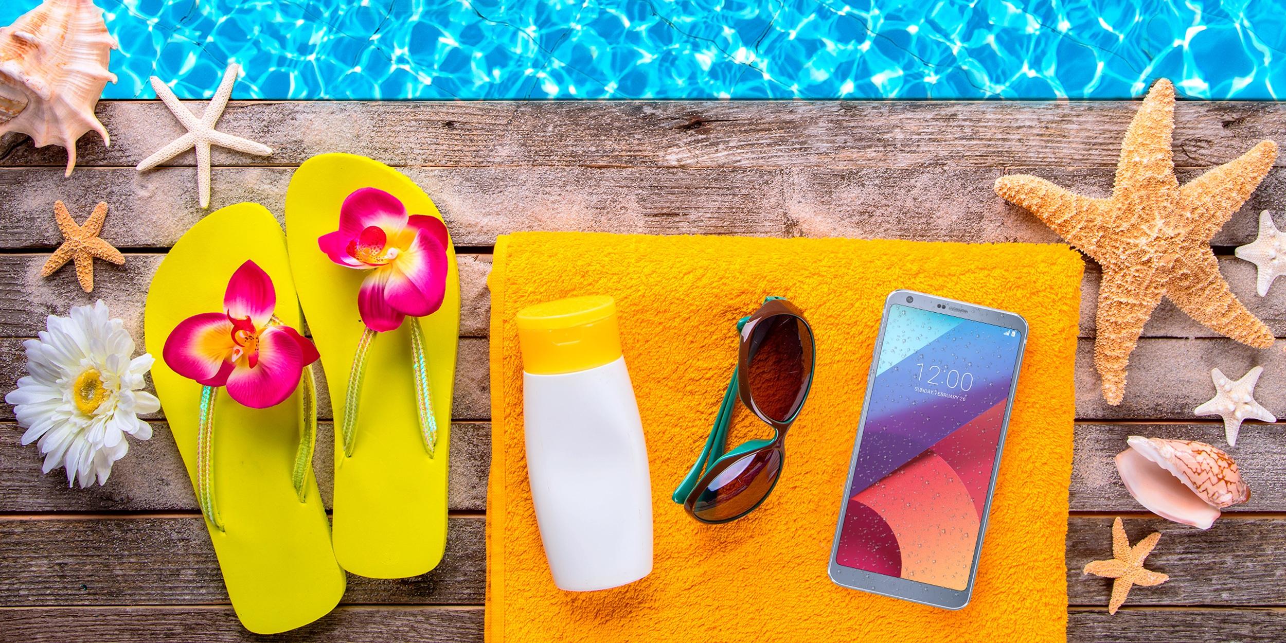 Precauciones a seguir para usar el celular en la playa