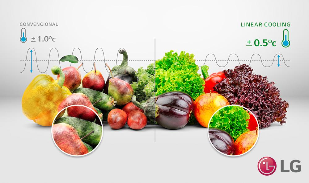 ¡Mantén tus alimentos siempres frescos con Nature Fresh!