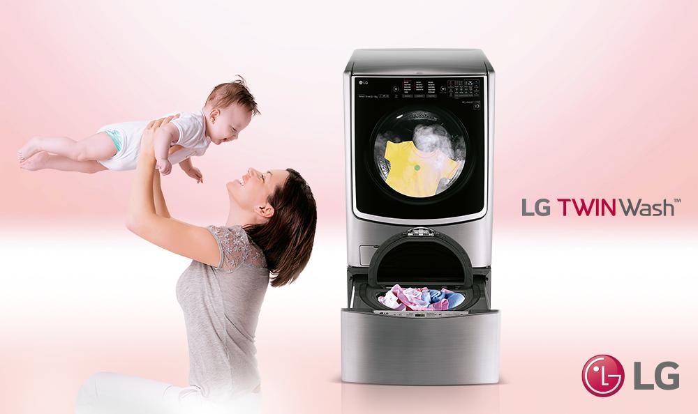 Promoción LG Twinwash y Ripley