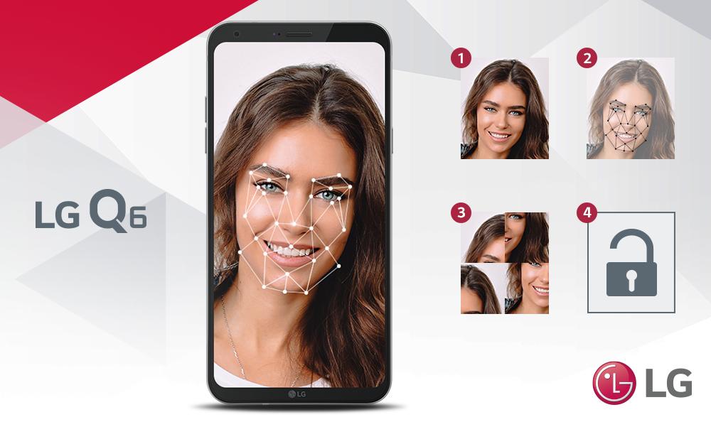 Desbloquea tu LG Q6 con un selfie