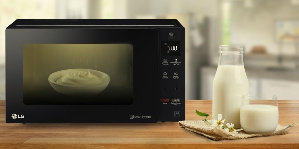 Aprende a preparar yogur en tu LG Neo Chef