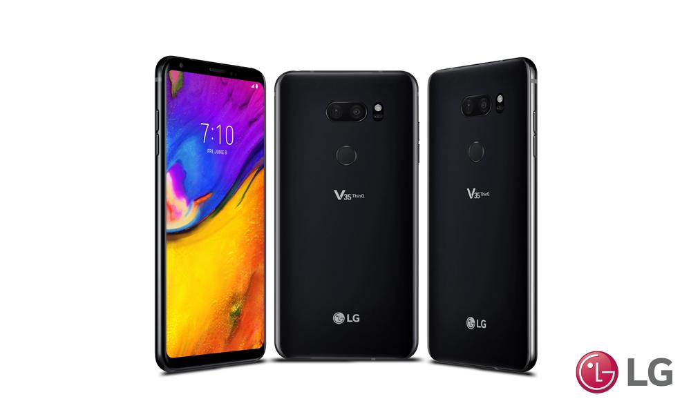 EL LG V35 ThinQ  YA ESTÁ DISPONIBLE EN EL PAÍS