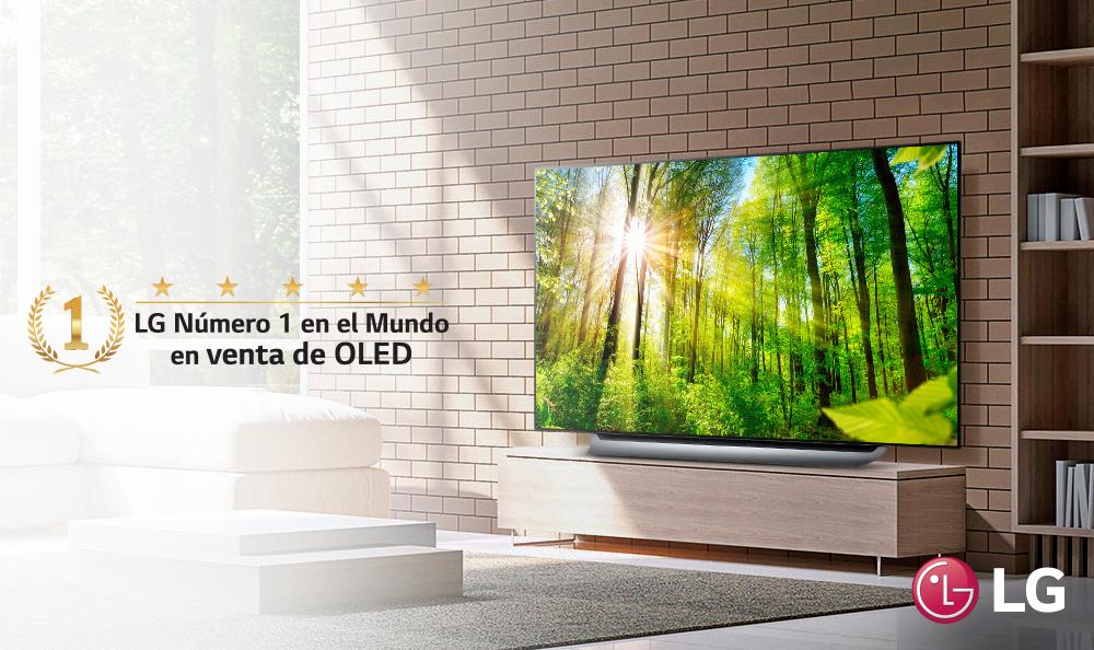 """PREMIOS Y LOGROS LG OLED TV """"EL MEJOR EN SU CATEGORÍA"""""""