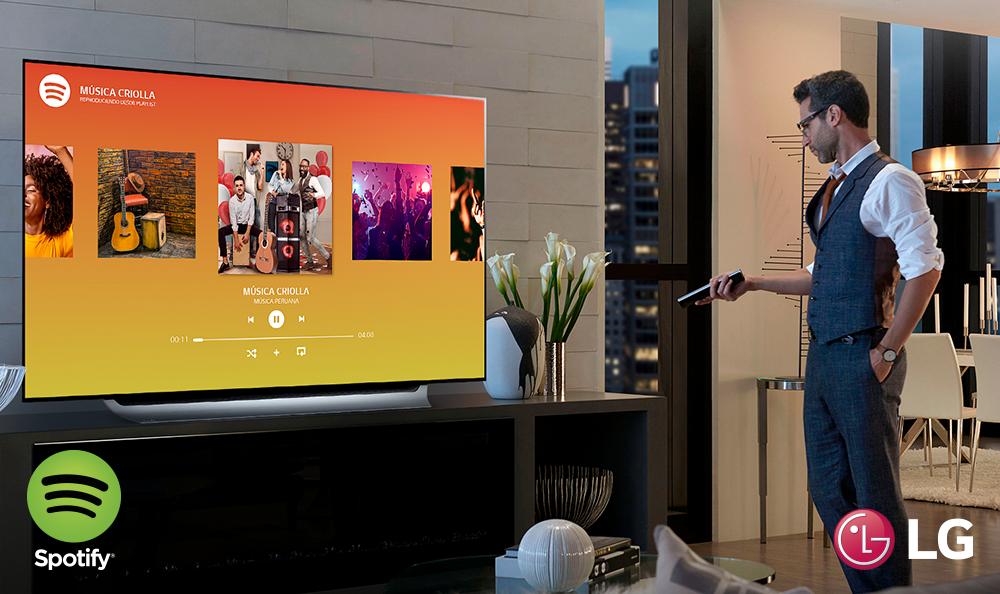 ¡VUELVE SPOTIFY PARA TU LG SMART TV!