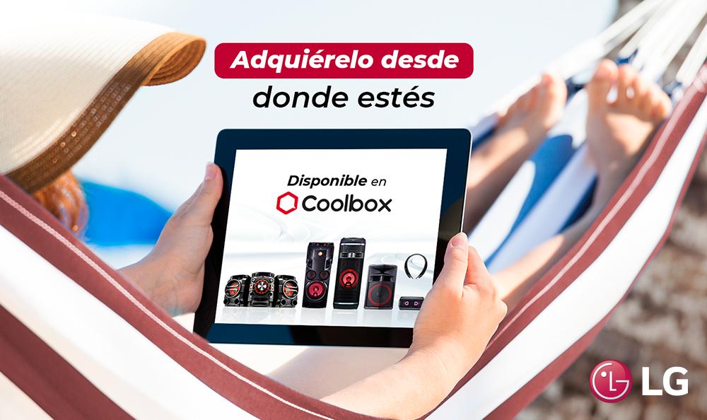 ¡LG Audio en Coolbox!
