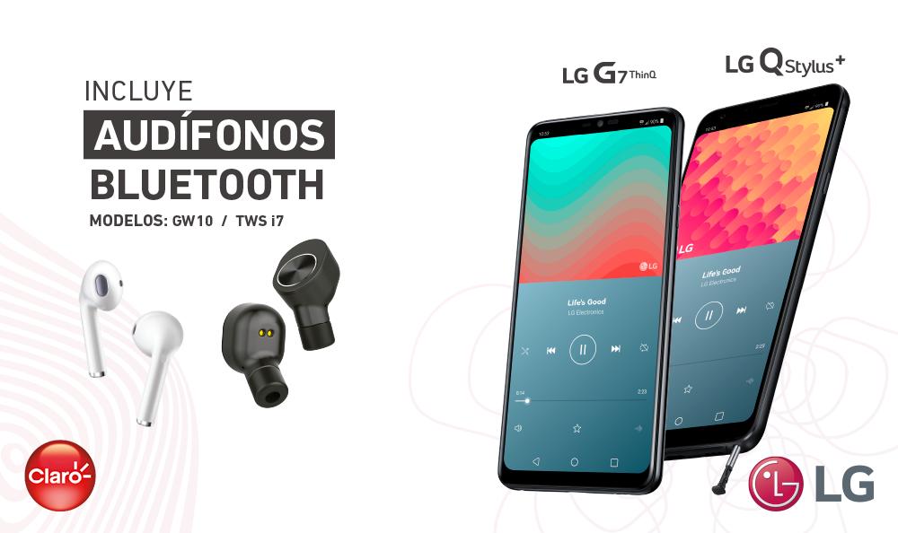 Promoción Audífonos LG