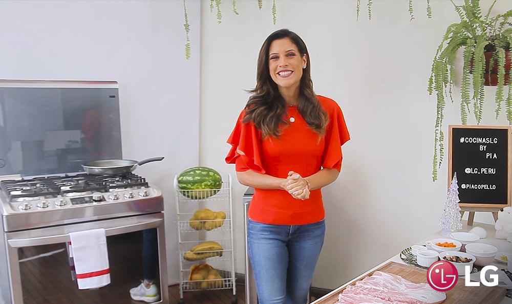 ¡Cocina con LG y María Pía!