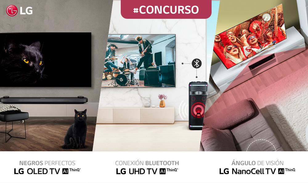 TÉRMINOS Y CONDICIONES CONCURSO LG TV PERÚ