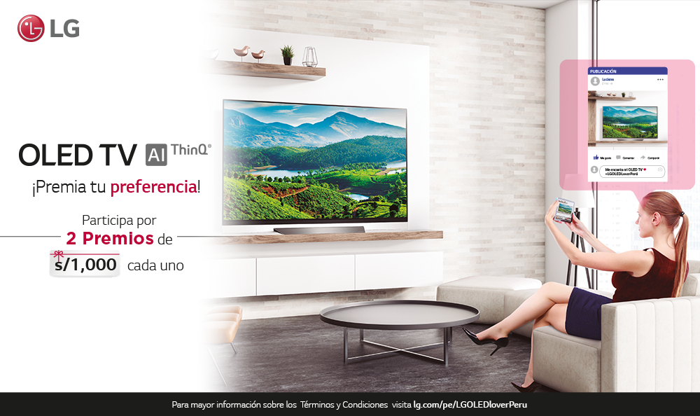 ¡LG OLED TV PREMIA TU PREFERENCIA!