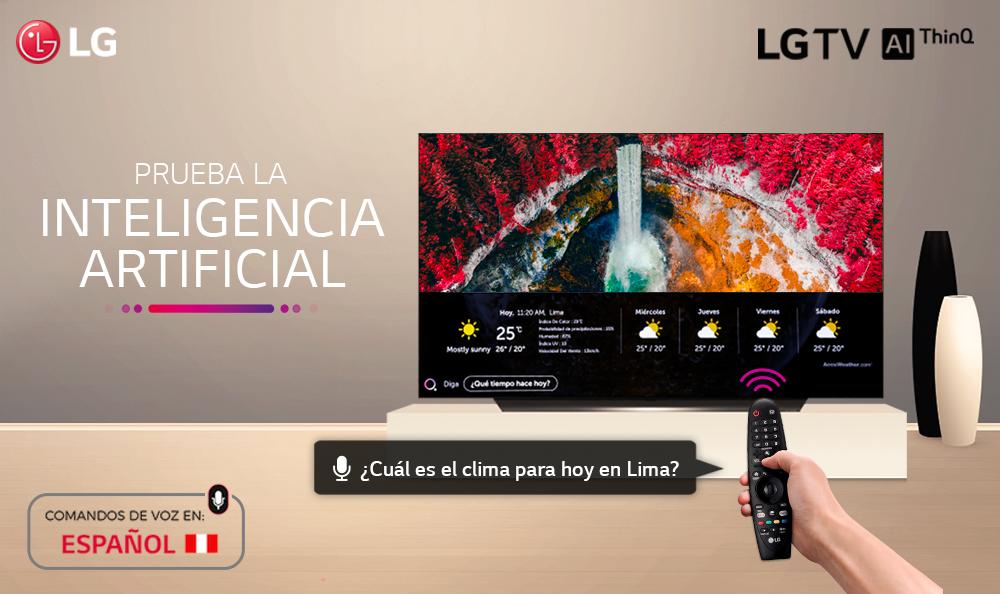 ¿CÓMO JUGAR CON EL SIMULADOR LG TV AI THINQ?