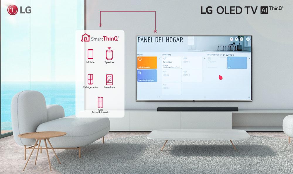 Controla tus electrodomésticos desde tu Televisor LG con Home Dashboard