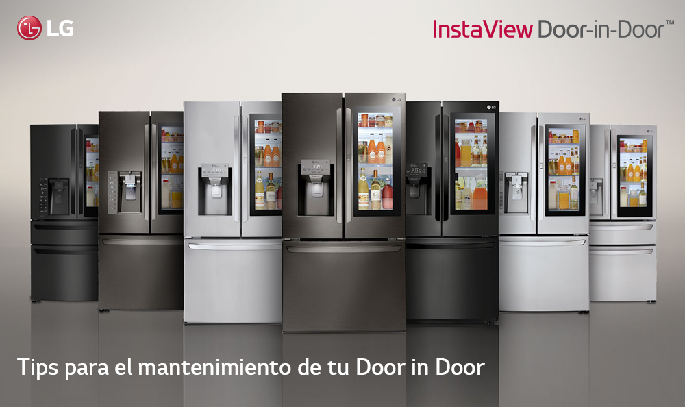 Tips para el mantenimiento de tu Refrigeradora Door in Door