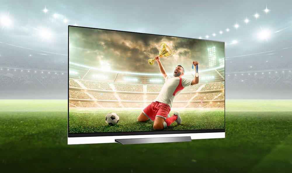 ¡No te pierdas la final por nada del mundo! ¡Disfrútalo con tu LG OLED TV!