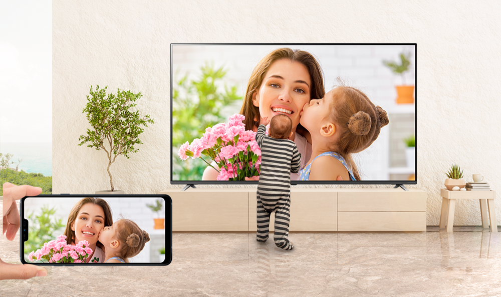 Comparte tus fotos con la app Screen Mirror en LG Smart TV