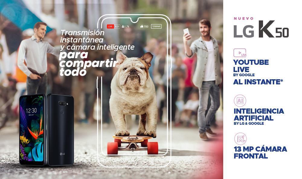 LG K50 | La Serie K se renueva