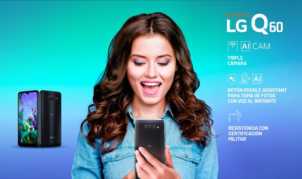 ¡Conoce el nuevo e increíble LG Q60!