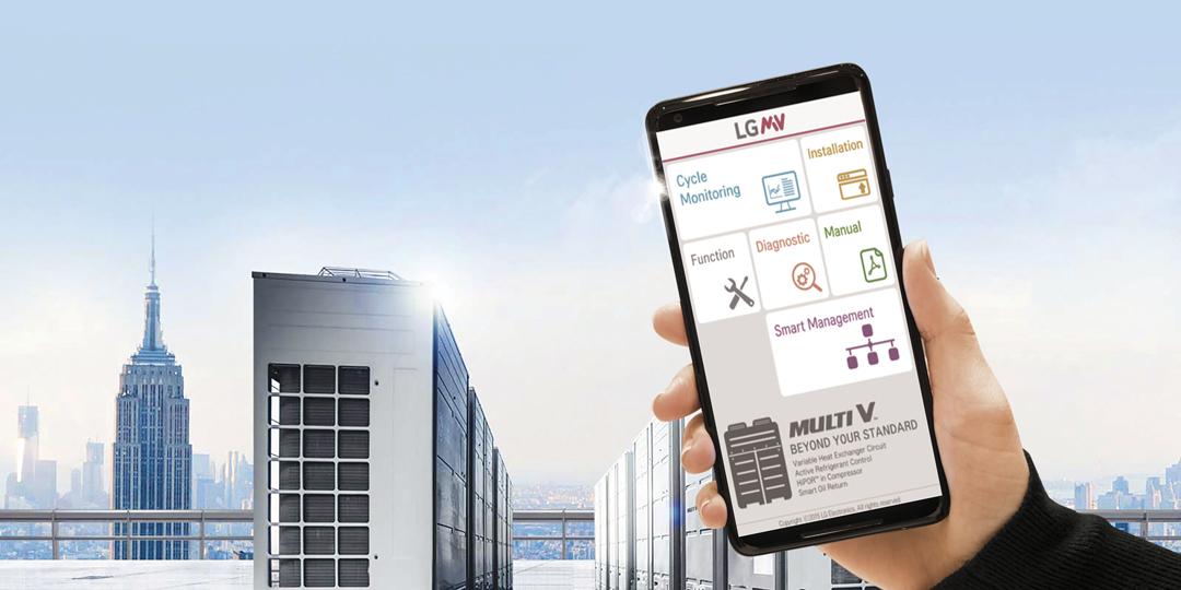 LG MULTI V 5 | Combina Eficiencia y Capacidad