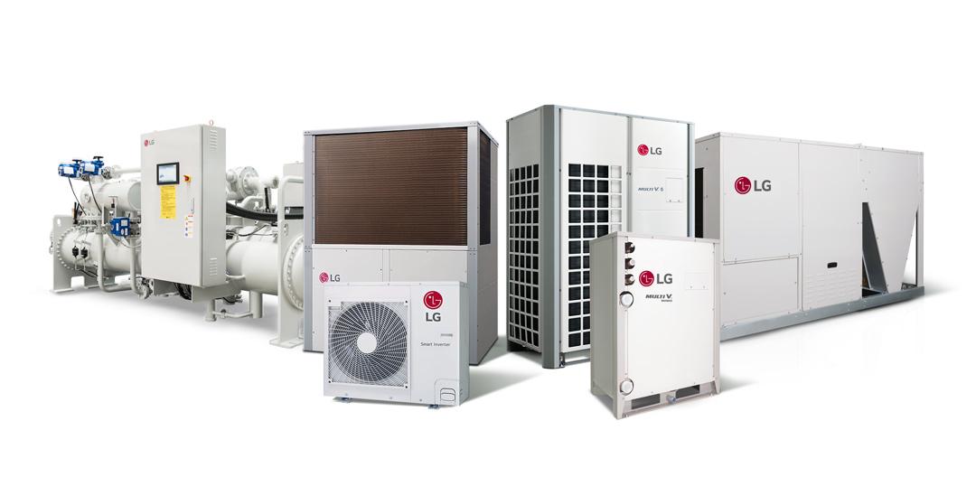 Las soluciones HVAC de LG resultan más efectivas para reducir el consumo de energía de un edificio