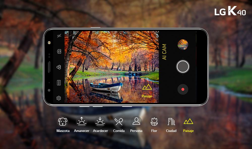 LG K40 | 5 Trucos para sacar fotos con tu smartphone