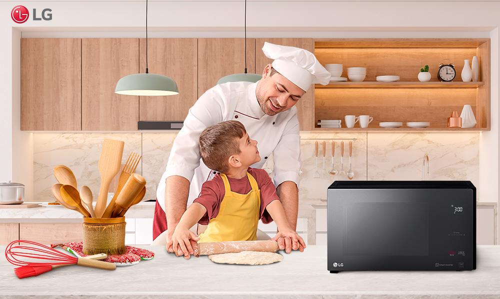 NeoChef LG | Cocina platos en menos de 6 minutos