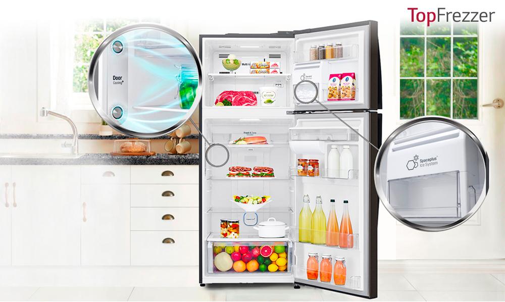 LG Top Freezer | Innovadores funciones que van con tu cocina