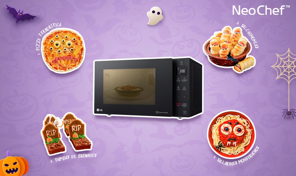 LG NeoChef | Aprende a preparar 4 recetas muy sencillas para Halloween