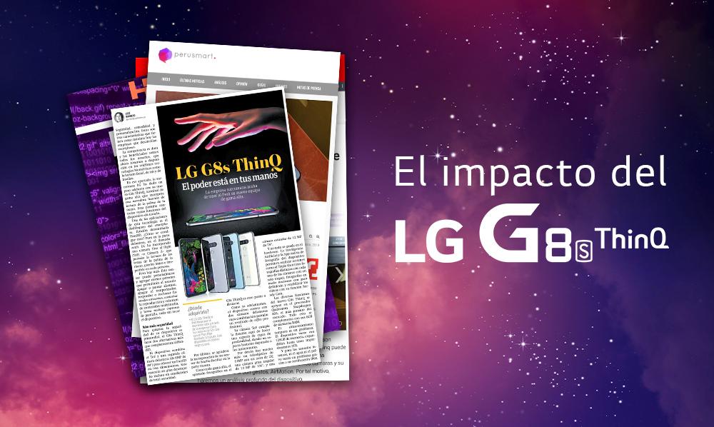 ¡El impacto del LG G8s ThinQ!