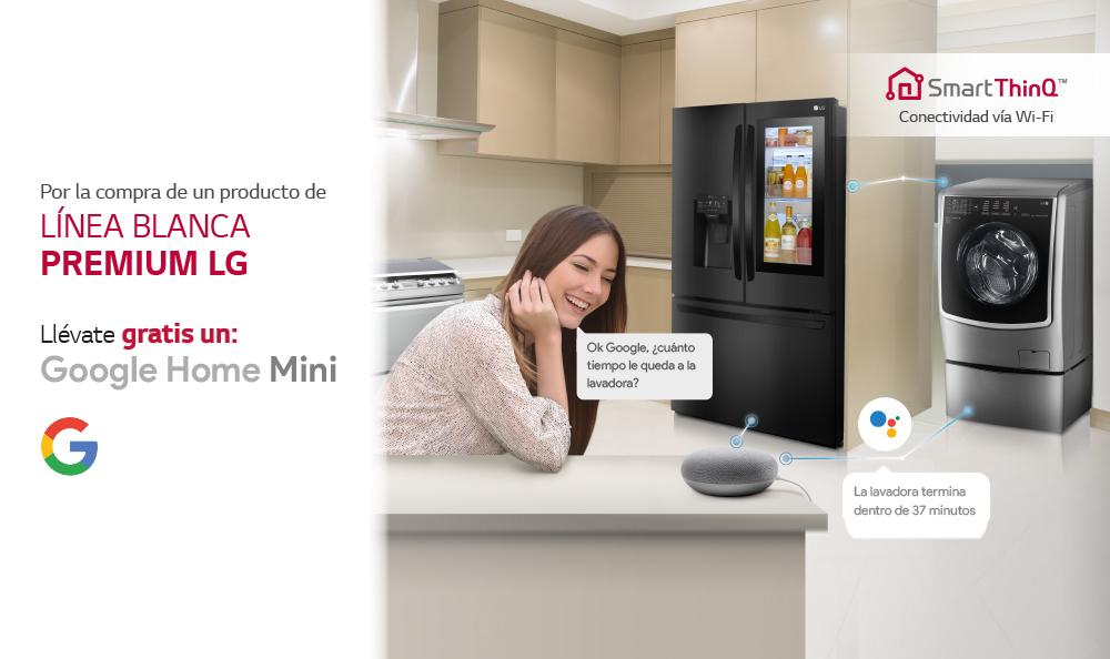 Términos y condiciones PROMOCIÓN Google Home Mini