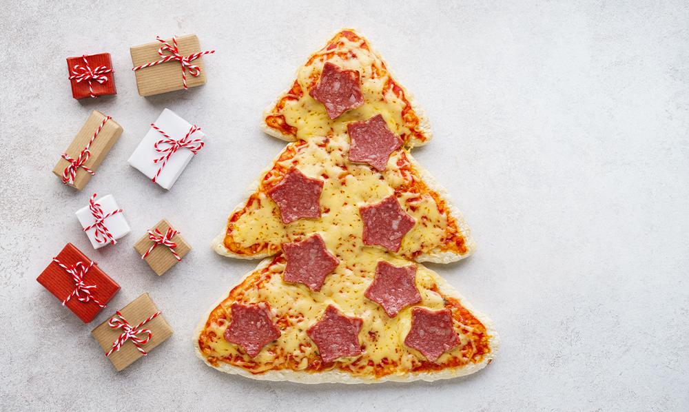 Cocinas LG | Prepara la mejor pizza de Árbol navideño