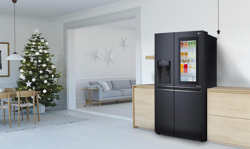 En esta Navidad, ahorra energía con LG Instaview Door in Door