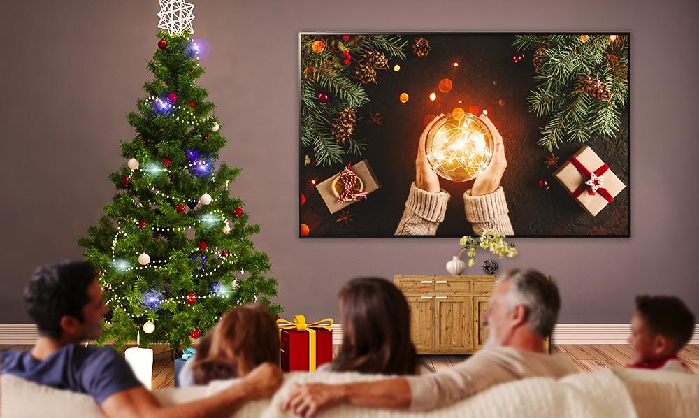 Disfruta las mejores películas esta navidad en tu TV LG