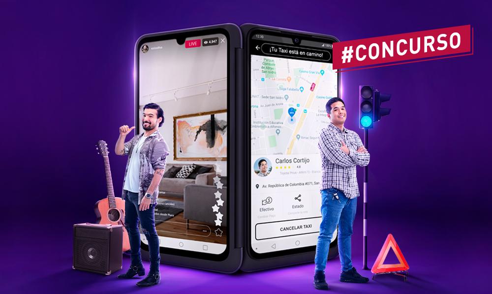 """Términos y condiciones del concurso: """"Lazanzamiento LG G8x ThinQ Dual Screen"""""""