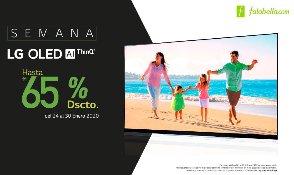 Semana LG OLED | Aprovecha hasta un 65% de DSCTO.