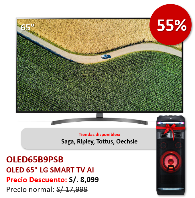 OLED65B9PSB 55