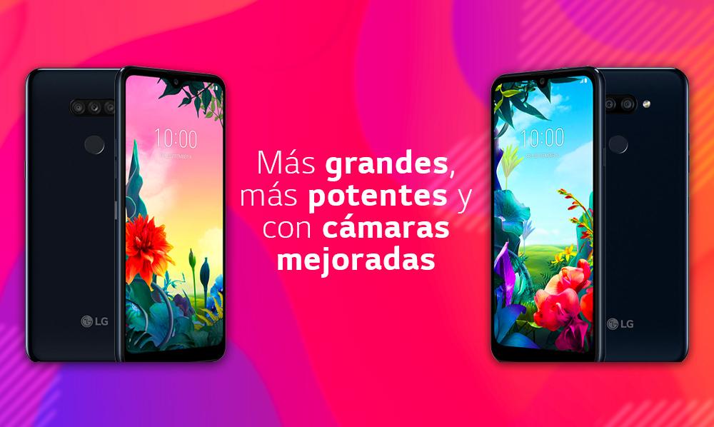 LG Mobile Perú repotencia su Serie K con nuevos celulares